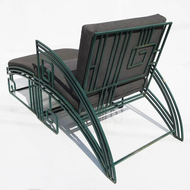 """""""Biltmore"""" Iron Chaise by Marina McDonald for Jazz 4"""