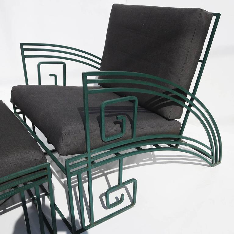 """""""Biltmore"""" Iron Chaise by Marina McDonald for Jazz 5"""