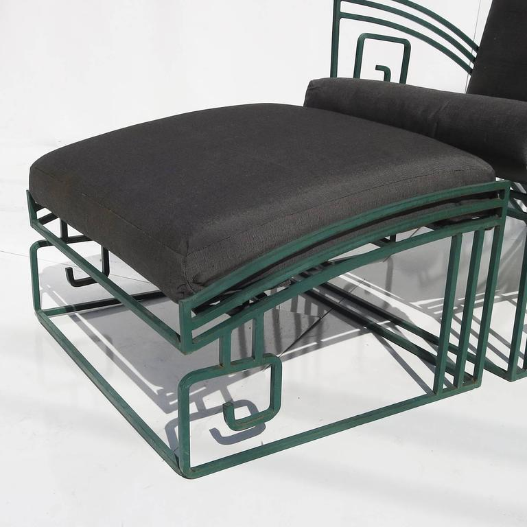 """""""Biltmore"""" Iron Chaise by Marina McDonald for Jazz 6"""