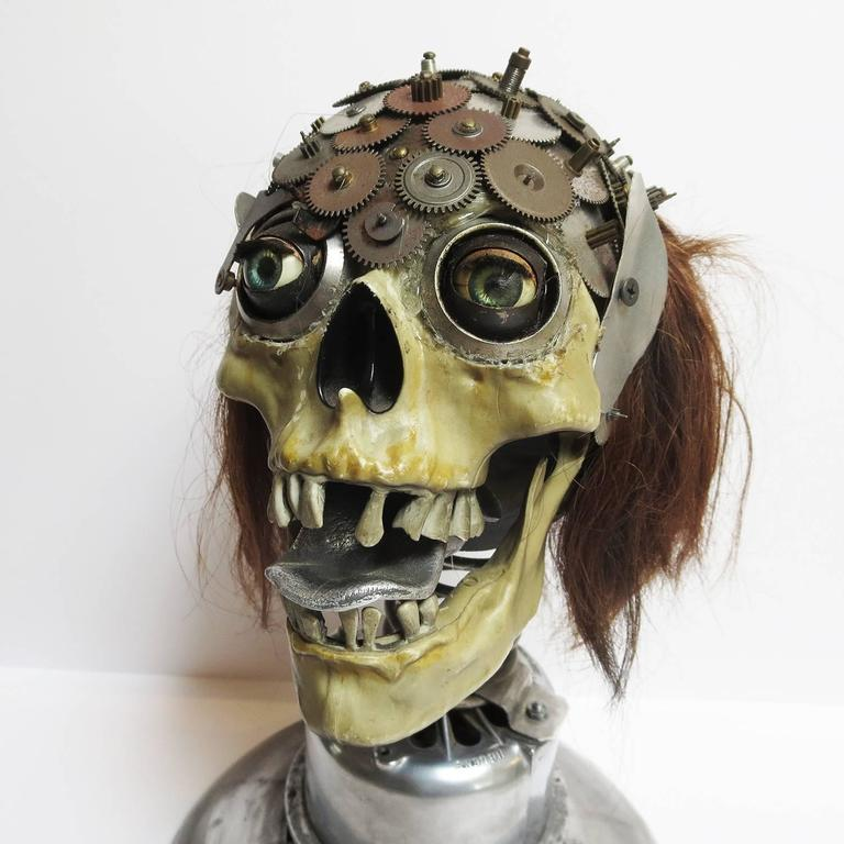 Los Angeles folk artist Baron Margo is known for his elaborate metal sculptures using