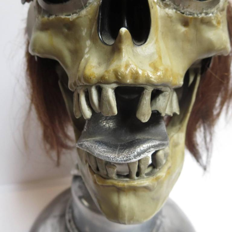 "American Baron Margo Lifesize ""Bobbing Head"" Sculpture For Sale"