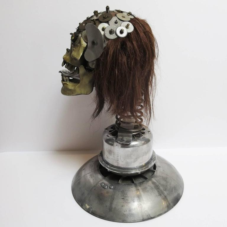 "Baron Margo Lifesize ""Bobbing Head"" Sculpture In Good Condition For Sale In Los Angeles, CA"
