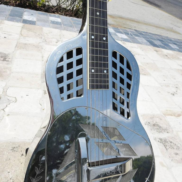 1928 National Steel Guitar Style Two Tricone Model At 1stdibs