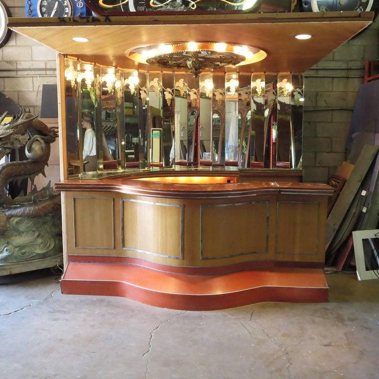 Paul Williams Custom Built Bar From Bel Air California