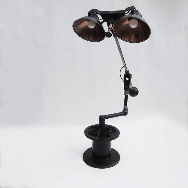 Industrial Floor Lamp by Wilmot Castle Company 2