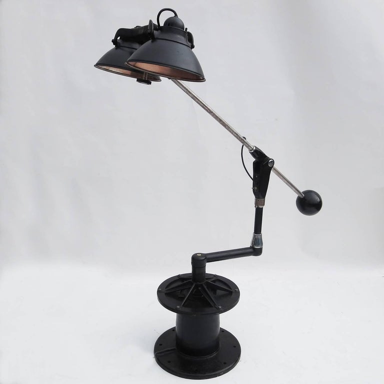 Industrial Floor Lamp by Wilmot Castle Company 3