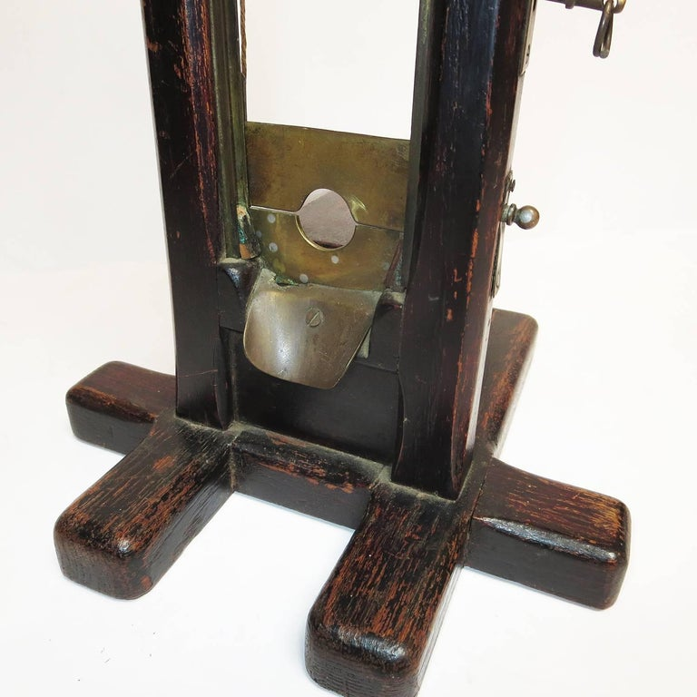Late 1800s, French Guillotine Cigar Cutter 2