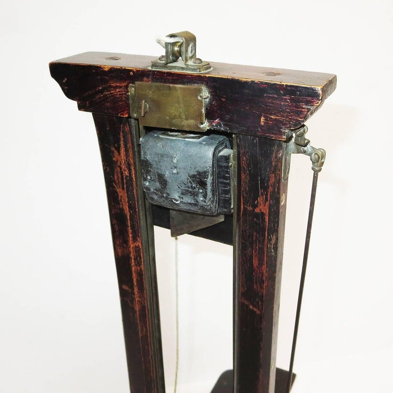 Late 1800s, French Guillotine Cigar Cutter 3
