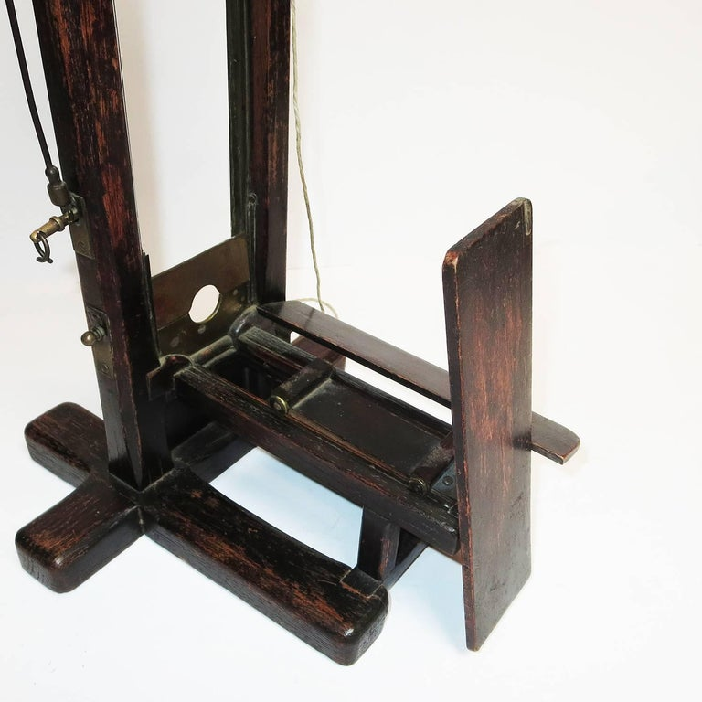 Late 1800s, French Guillotine Cigar Cutter 5