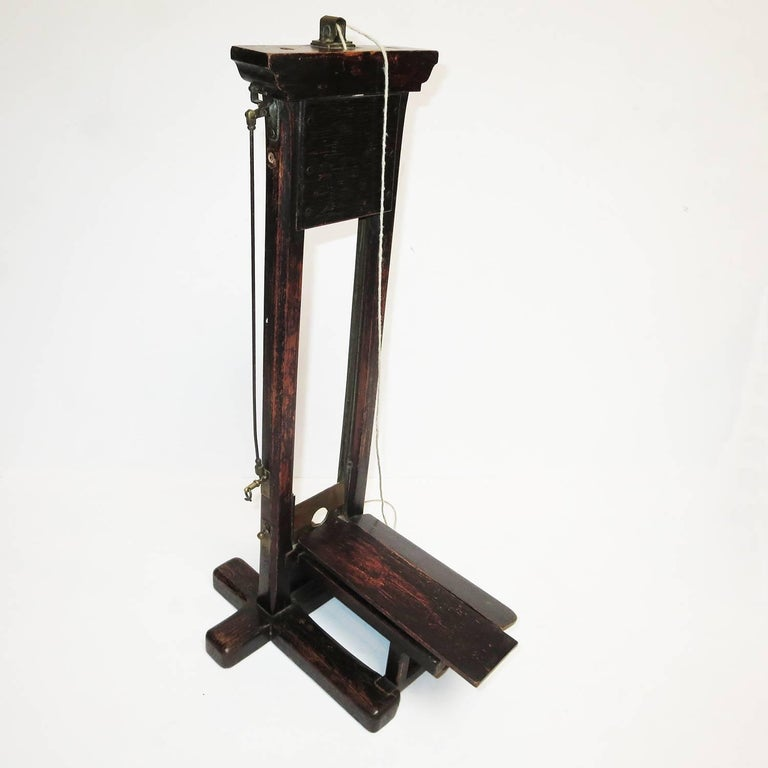Late 1800s, French Guillotine Cigar Cutter 6