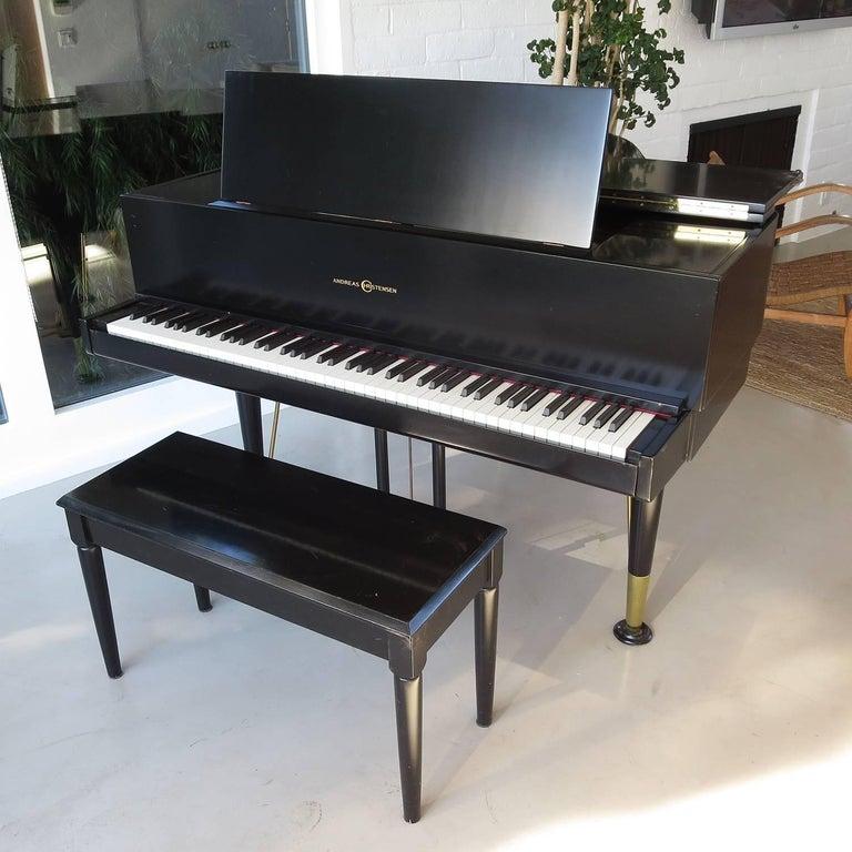 Mid-20th Century Andreas Christensen Piano 1955 AC Tulex Model For Sale