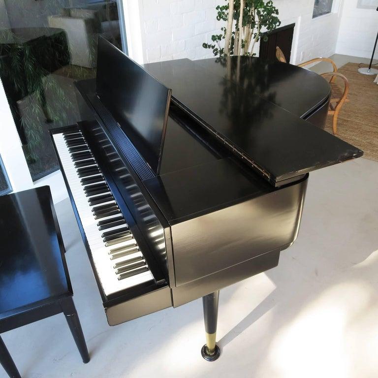 Danish Andreas Christensen Piano 1955 AC Tulex Model For Sale