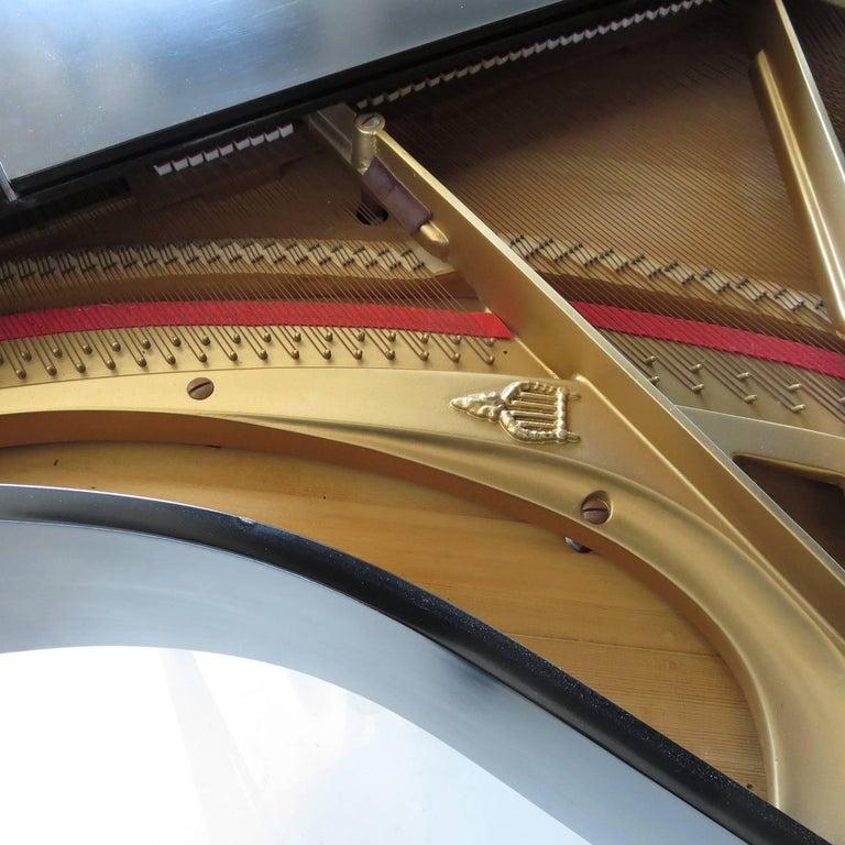 Andreas Christensen Piano 1955 AC Tulex Model In Excellent Condition For Sale In Los Angeles, CA