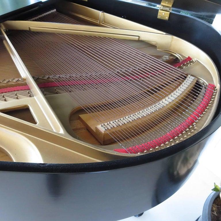 Lacquered Andreas Christensen Piano 1955 AC Tulex Model For Sale
