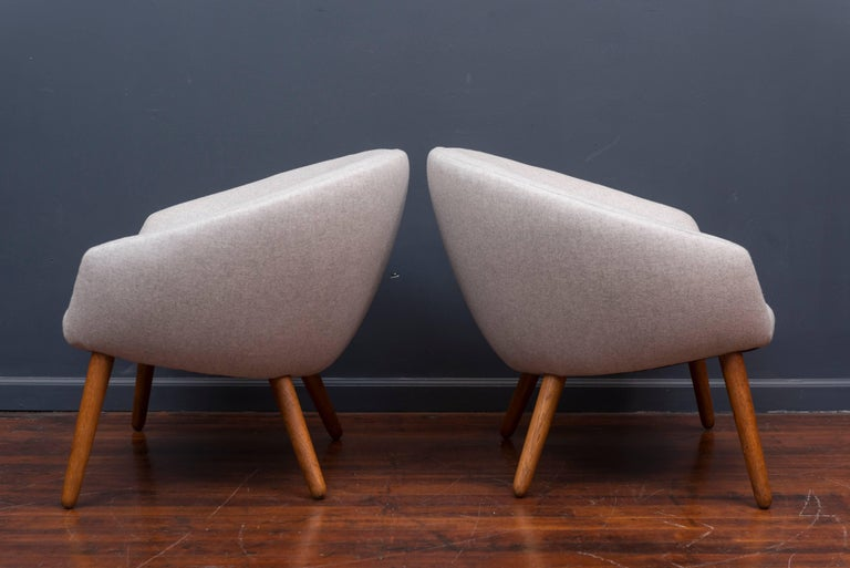Nanna Ditzel AP 26 Lounge Chairs In Excellent Condition For Sale In San Francisco, CA