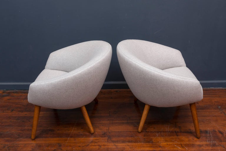 Mid-20th Century Nanna Ditzel AP 26 Lounge Chairs For Sale