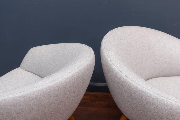 Nanna Ditzel AP 26 Lounge Chairs For Sale 1