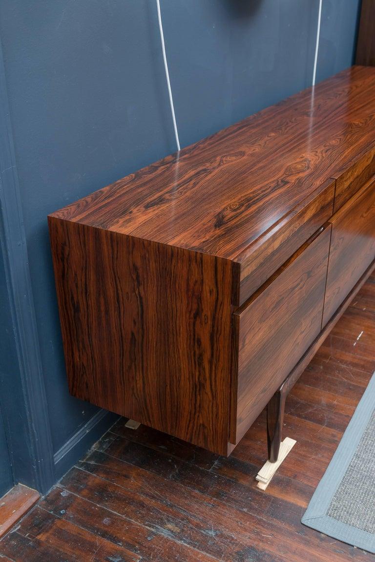 I.B Kofod-Larsen Rosewood Credenza For Sale 1