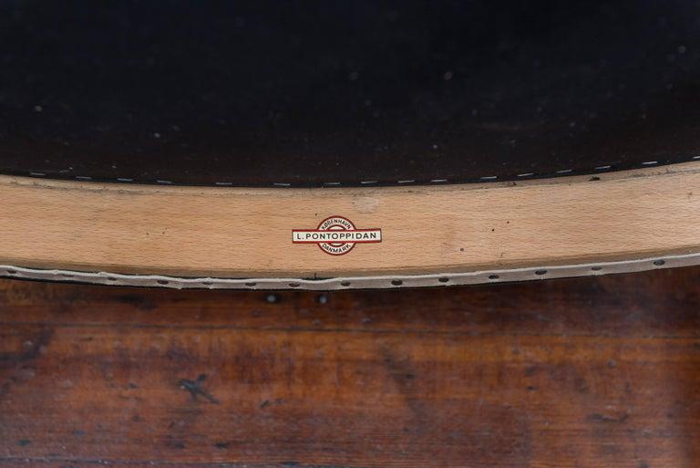 Ejner Larsen and Askel Bender Madsen Lounge Chair LP48 For Sale 1
