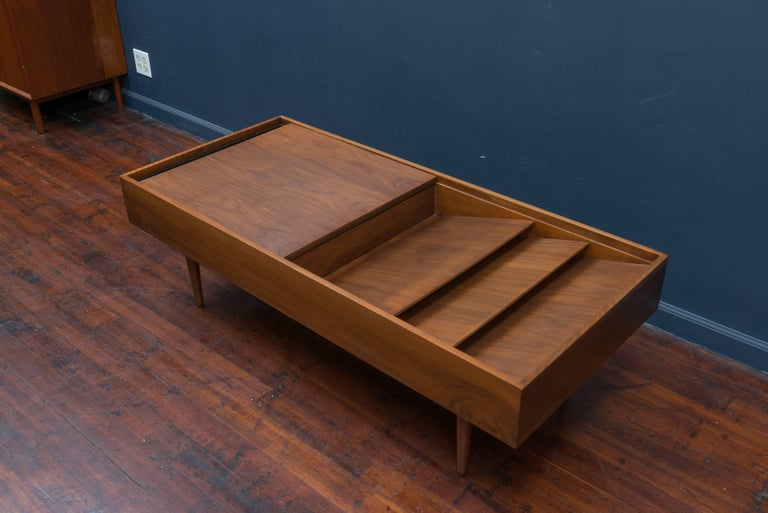 Milo Baughman Mid Century Coffee Table for Glennn of California In Excellent Condition For Sale In San Francisco, CA