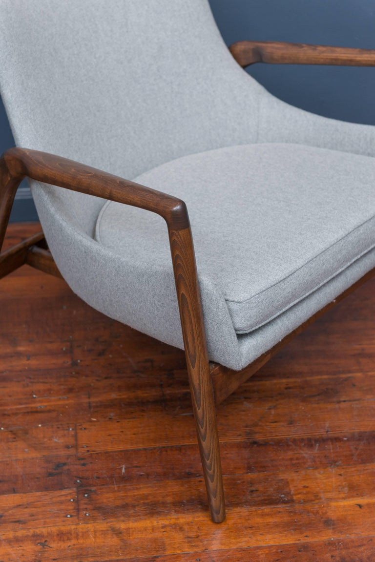 Mid-20th Century Ib Kofod-Larsen Lounge Chairs For Sale