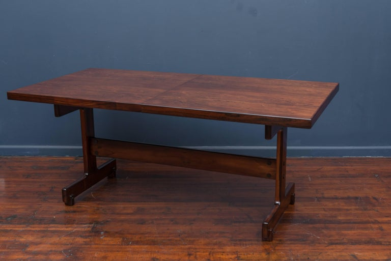 Sergio Rodrigues Extension Dining Table In Excellent Condition For Sale In San Francisco, CA