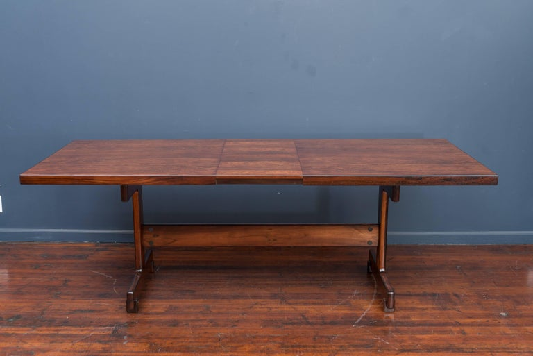 Sergio Rodrigues Extension Dining Table For Sale 3