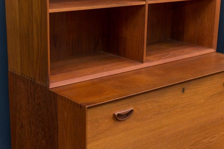 Peter Hvidt & Orla Mølgaard Secretary Bookcase For Sale 2
