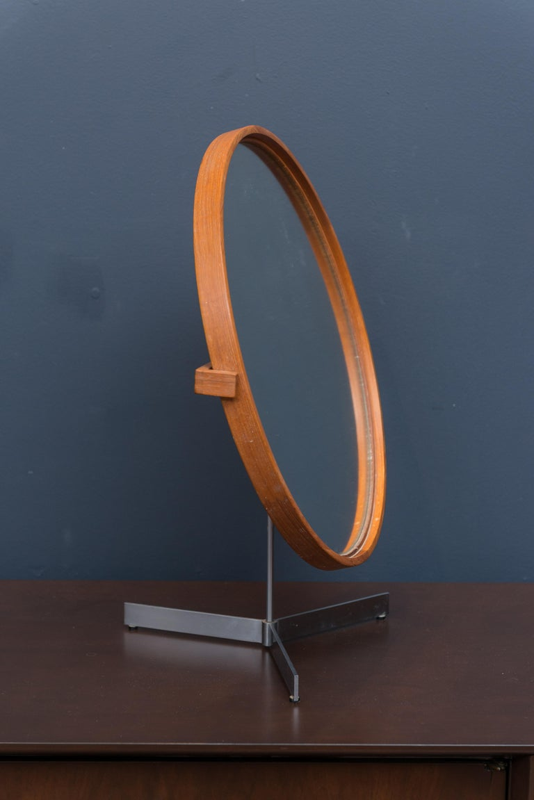 Danish Vanity Mirror For Sale 1