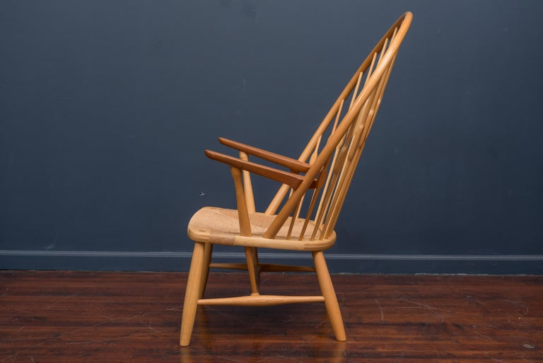 Late 20th Century Hans Wegner Peacock Chair for Johannes Hansen For Sale