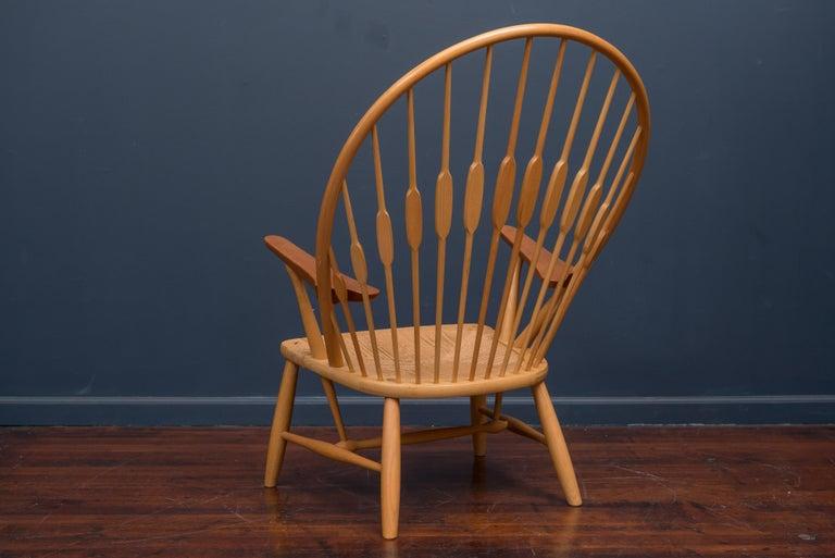 Hans Wegner Peacock Chair for Johannes Hansen For Sale 1