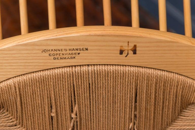 Hans Wegner Peacock Chair for Johannes Hansen For Sale 3
