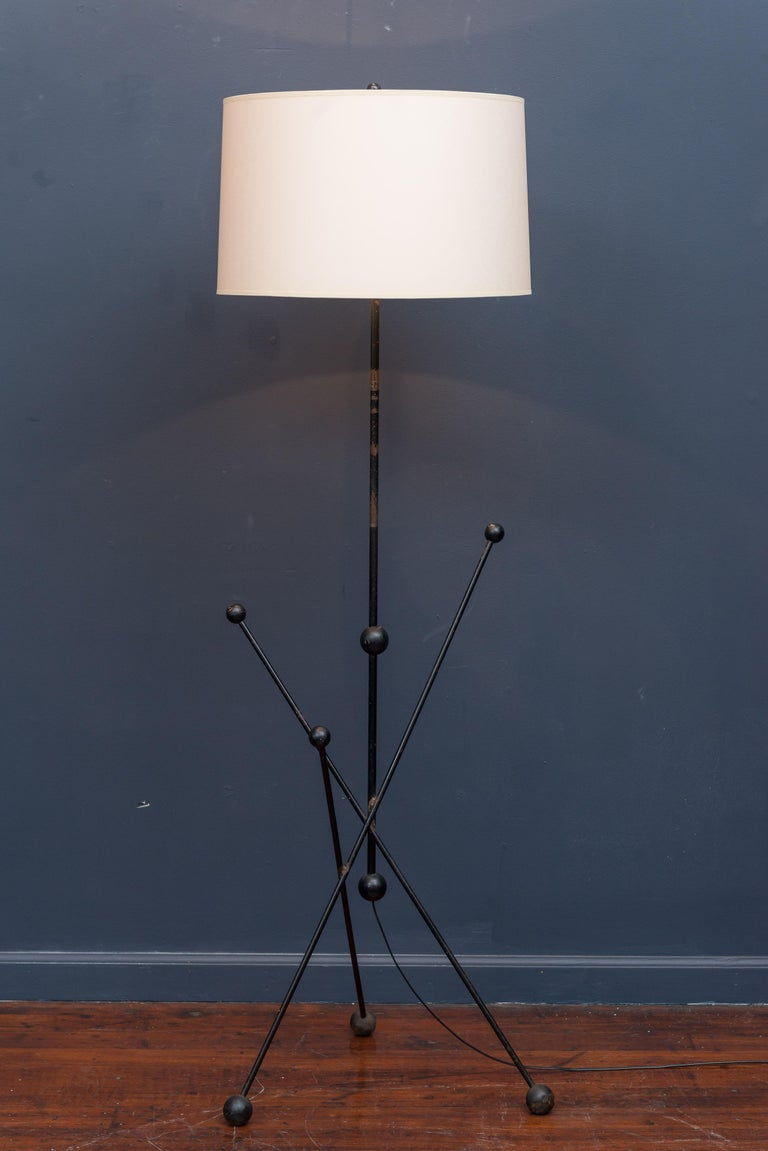 Mid-Century Modern Midcentury French Floor Lamp For Sale