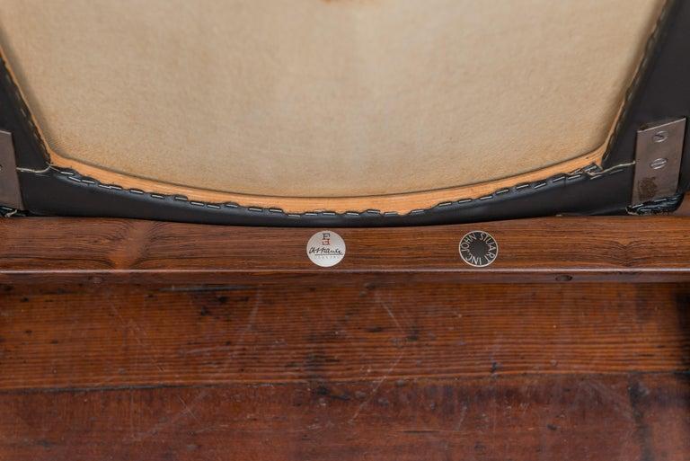 Finn Juhl Rosewood Spade Chair Model FD133 For Sale 4