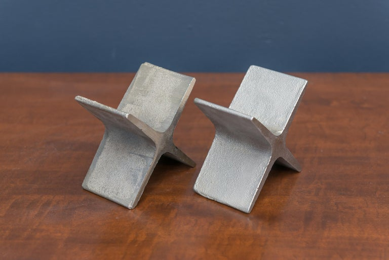 Austrian Carl Auböck Bookends For Sale