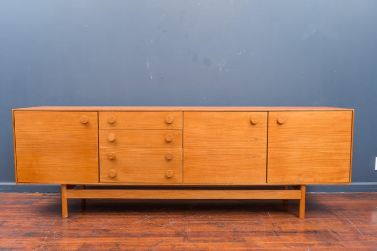 I.b Kofod-Larsen design large teak credenza, fully fitted interiors and newly refinished.