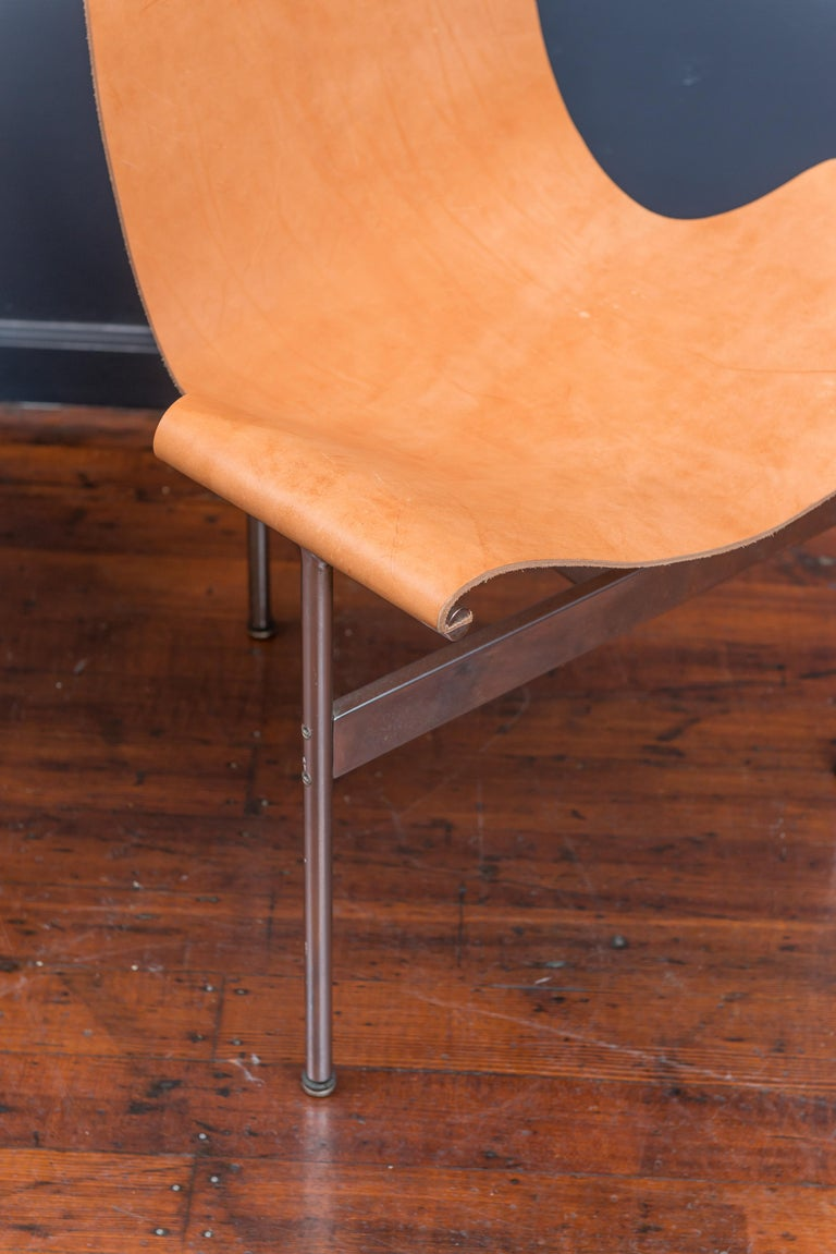 Late 20th Century Original Katavalos T-Chairs Model 3LC for Laverne International For Sale