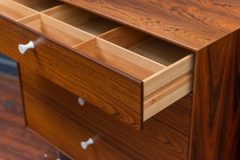 American George Nelson Rosewood Chests for Herman Miller For Sale