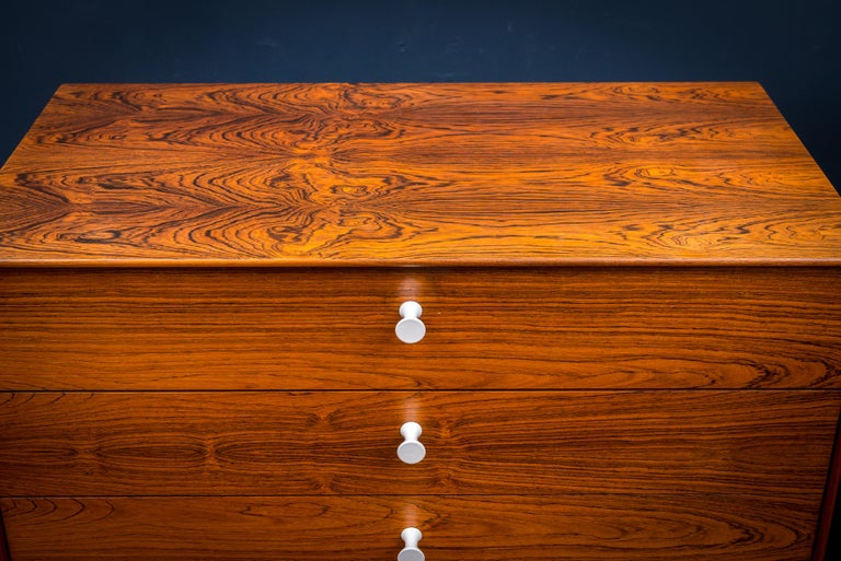 Mid-20th Century George Nelson Rosewood Chests for Herman Miller For Sale