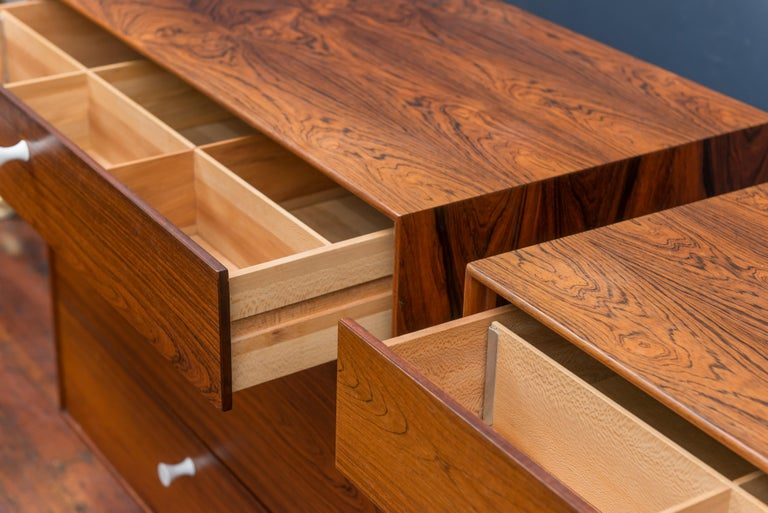 George Nelson Rosewood Chests for Herman Miller For Sale 1