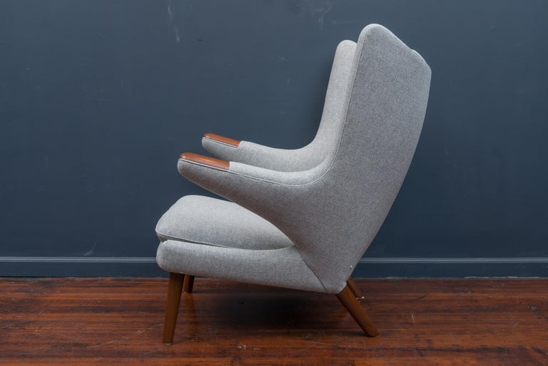Hans Wegner Papa Bear Chair In Excellent Condition For Sale In San Francisco, CA