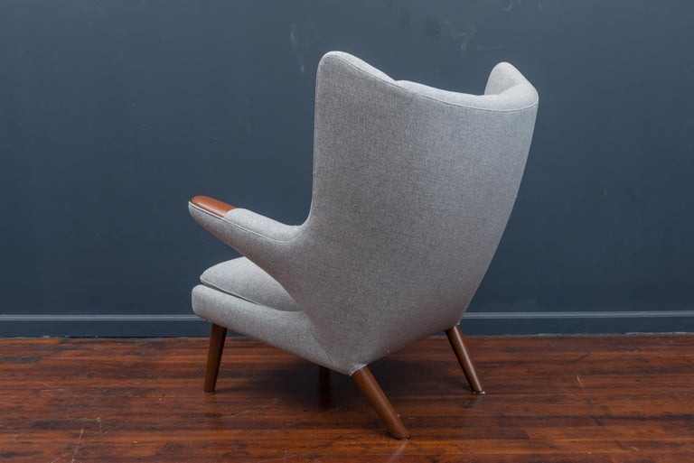 Mid-20th Century Hans Wegner Papa Bear Chair For Sale