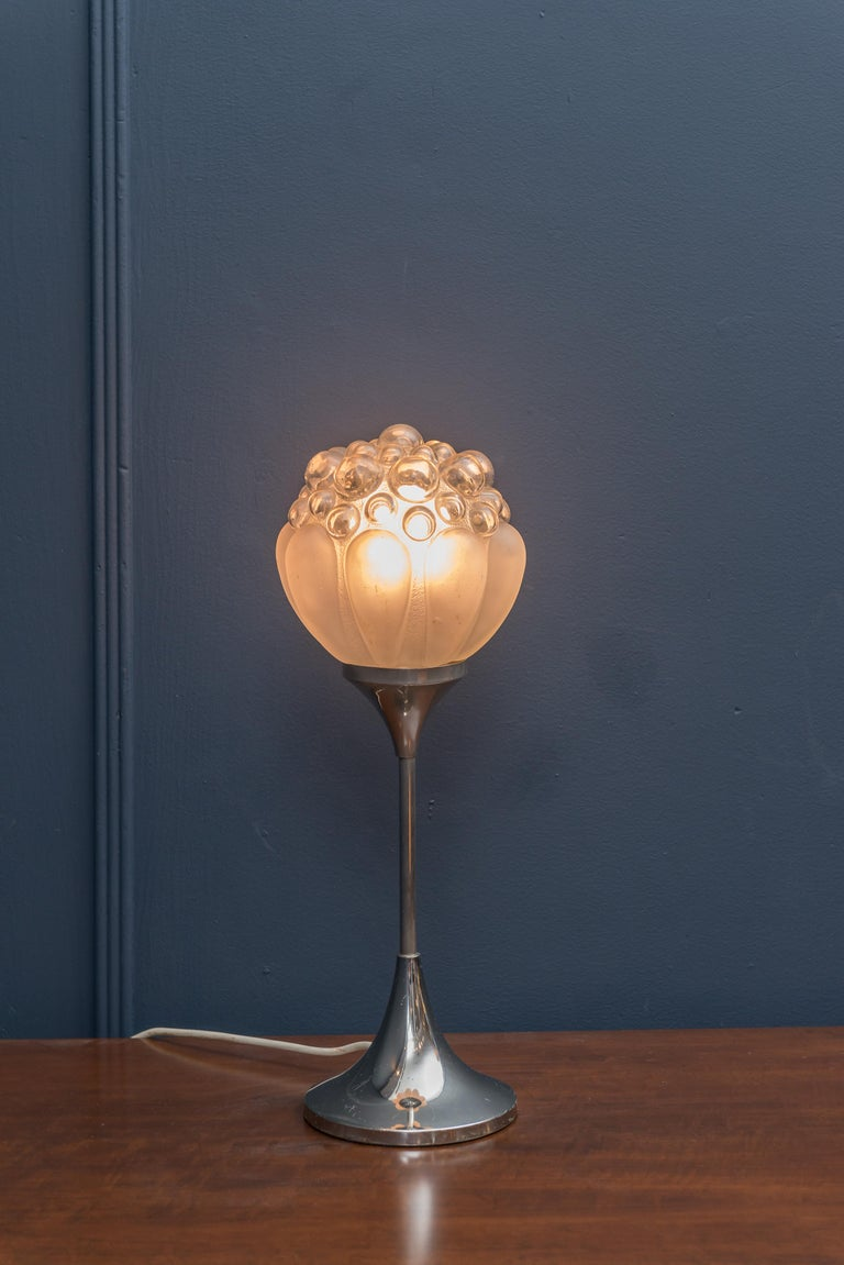 Helena Tynell Bubble Table Lamp for Limburg In Fair Condition For Sale In San Francisco, CA