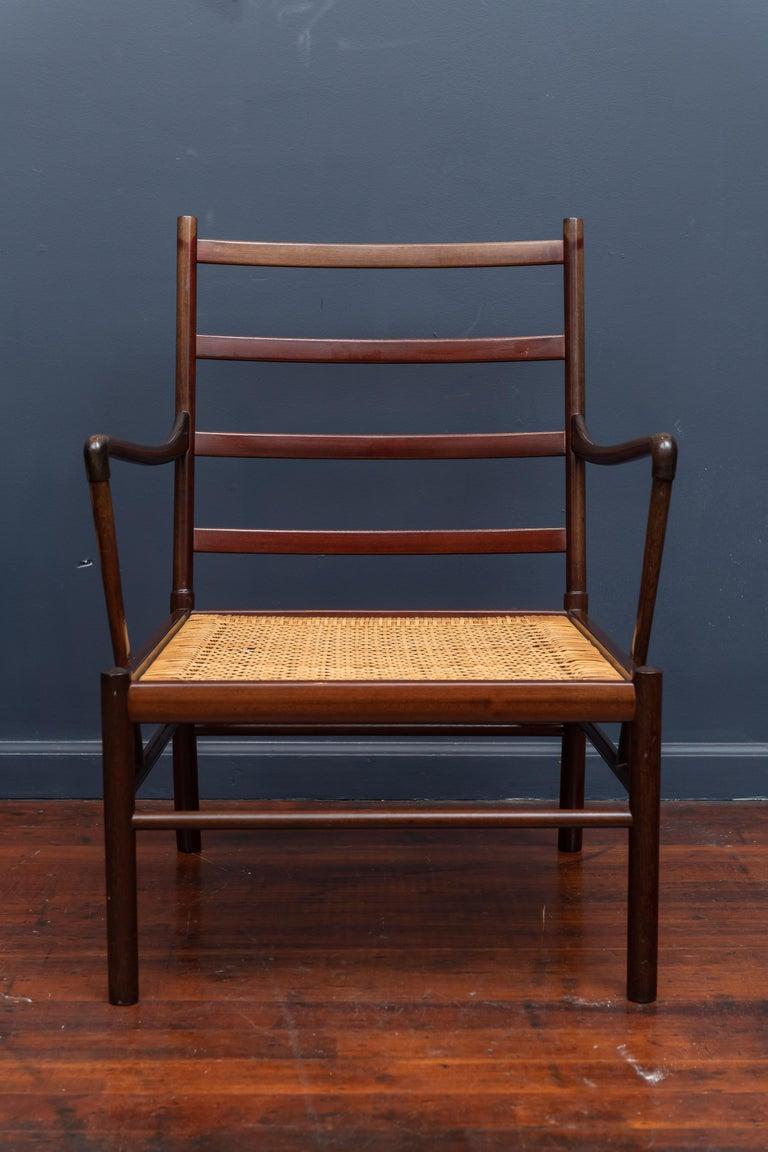Scandinavian Modern Ole Wanscher Colonial Chairs For Sale
