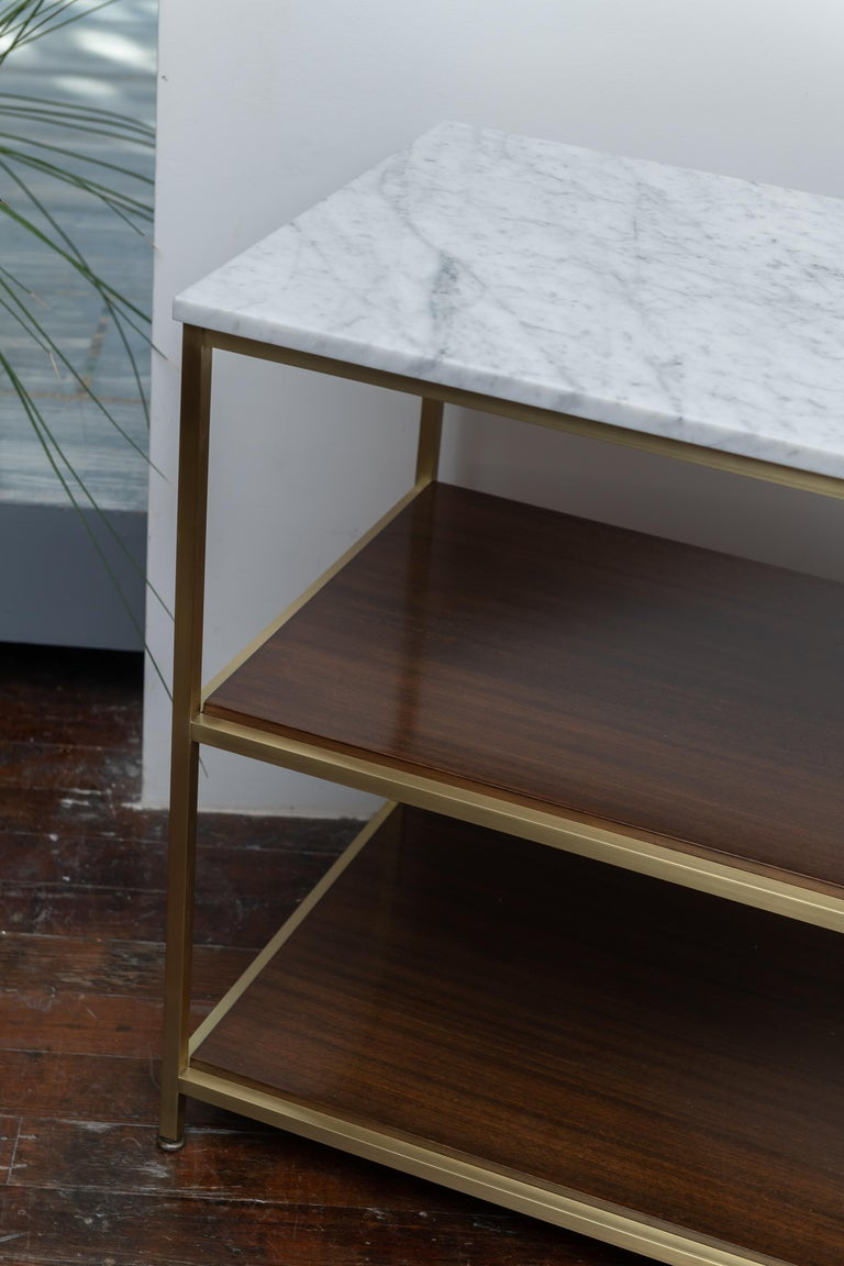 Mahogany Paul McCobb Console Table For Sale