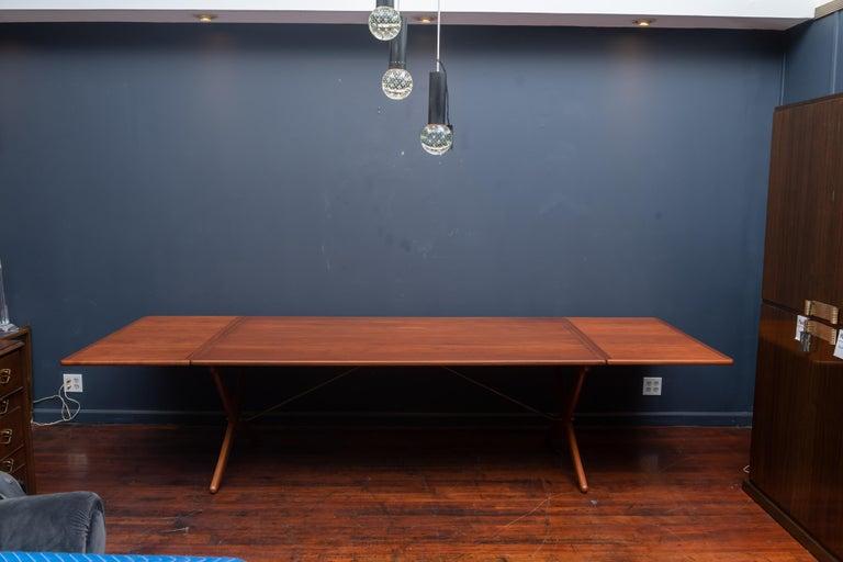Danish Hans Wegner Dining Table Model AT-314 For Sale