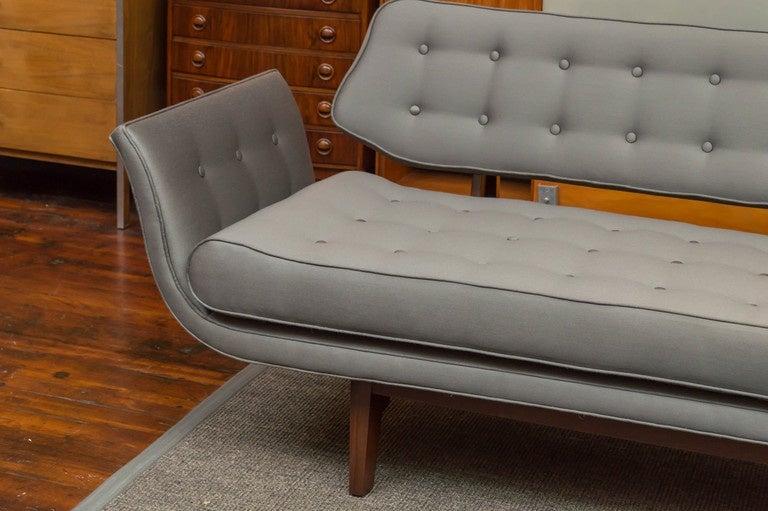 Mid-Century Modern La Gondola Sofa by Dunbar For Sale