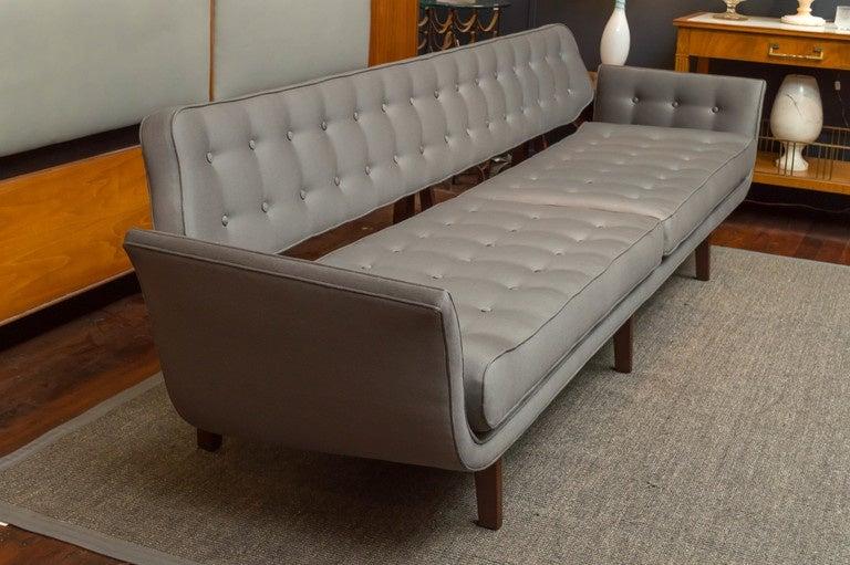 American La Gondola Sofa by Dunbar For Sale