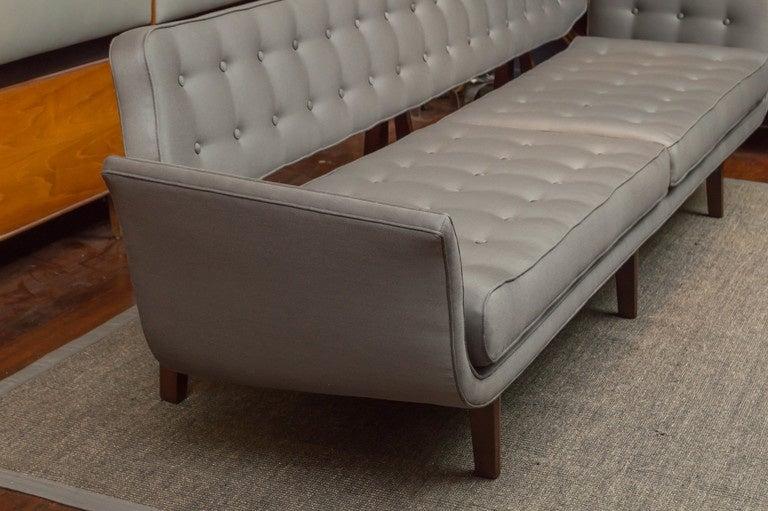 Mid-20th Century La Gondola Sofa by Dunbar For Sale