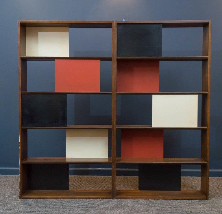 Room Divider or Bookcase by Evans Clark for Glenn 2
